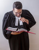 Laughing at the law — Stock Photo
