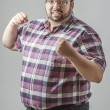 Stock Photo: Fist up