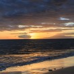Maui sunset — Stock Photo #32472641