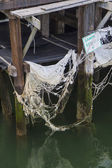 Abandon pier — Stock Photo