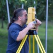 Land surveyor — Stock Photo #30536595
