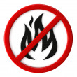 Fire not allowed — Stock Photo #30537789