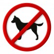 Dogs not allowed — Stock Photo #30537791