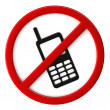Cell phones not allowed — Stock Photo #30537797