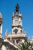 Valencia City hall — Stock Photo