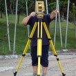 Land surveyor — Stock Photo #34650085