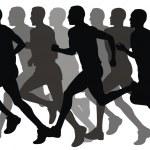 Marathon — Stock Vector #4297060