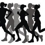 Marathon — Stock Vector #4297064