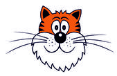 Yavru kedi — Stok Vektör
