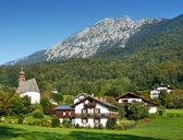Bad Reichenhall Landscape — Stock Photo