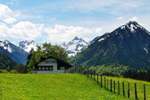 Oberstdorf, Germany Landscape — Stockfoto