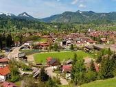 Oberstdorf, deutschland-landschaft — Stockfoto