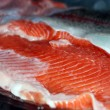Fillet of rainbow trout — Stock Photo #45881641