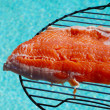 Fillet of rainbow trout — Stock Photo #45881875