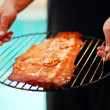 Fillet of rainbow trout — Stock Photo #45882213