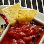 Tomato sauce , salsa — Stock Photo #46292613