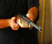 Weapon, shotgun, hunting. — Stock Photo