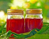 Nectarine, peach jam. — Stock Photo