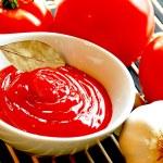 Tomato sauce. — Stock Photo #47910719