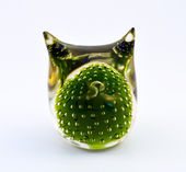 Glass, Paperweight — 图库照片