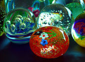Glass, Paperweight — Foto Stock
