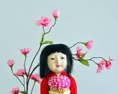 Japanese, Geisha.doll. — Stock Photo