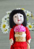 日本人,geisha.doll. — 图库照片