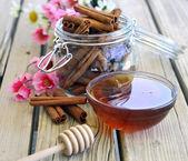 Fresh honey. — Stock Photo
