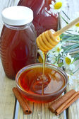 čerstvý med. — Stock fotografie