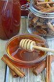 Färsk honung. — Stockfoto