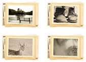 Vintage photos — Stockfoto