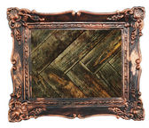 Collection frame vintage oak wood abstract rusty colored background — Stock Photo