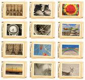 Archiwalne zdjęcia film — Zdjęcie stockowe