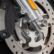 Royalty-Free Stock Photo: Motorcycle brake disc