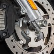 Motorcycle brake disc — Stock Photo #24935749