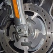 Motorcycle brake disc — Stock Photo