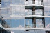 Skyscraper windows — Stock Photo