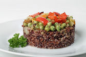 Brown rice — Fotografia Stock