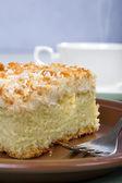 Sponge cake — Stock Photo