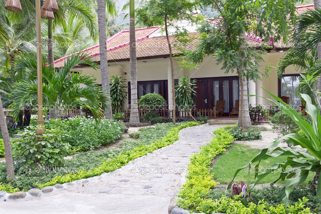 Tropical Garden Bungalow Bungalows in a Tropical Garden