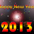 Happy New Year 2013 illustration — Stock Photo #14332745