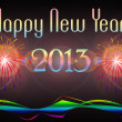 Happy New Year 2013 illustration — Stock Photo #14332747