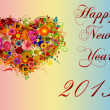 Happy New Year 2013 illustration — Stock Photo #14332755