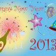 Happy New Year 2013 illustration — Stock Photo #14332767