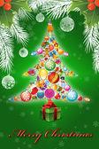 God jul illustration — Stockfoto