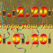 2013 Happy New Year greeting card — Stock fotografie