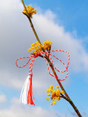 Martisor - romanian symbol of the beginning of spring. — Stock Photo