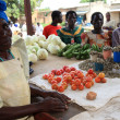 Market in Kabermaido - Uganda — Stock Photo