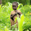 Stock Photo: Poverty in Remote Western Uganda