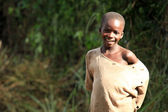 African Child - Remote Western Uganda — Stock Photo